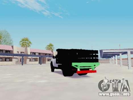 Chevrolet Silverado 3500 HD para GTA San Andreas vista posterior izquierda