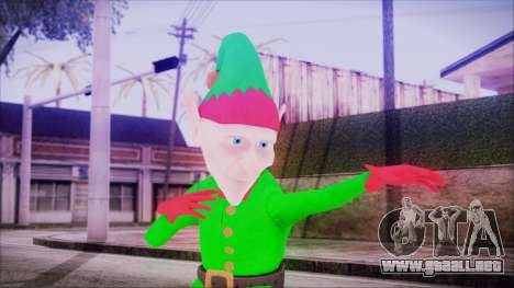 Christmas Elf v2 para GTA San Andreas