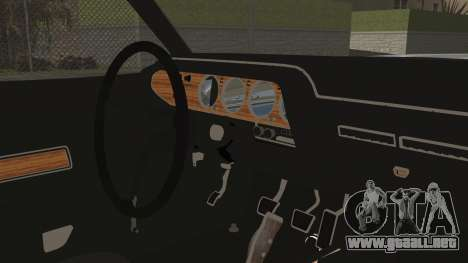 Dodge Challenger RT para la visión correcta GTA San Andreas
