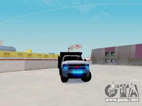 Chevrolet Silverado 3500 HD para la visión correcta GTA San Andreas