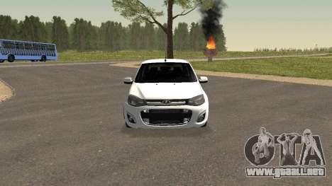 Lada Granlina para GTA San Andreas left