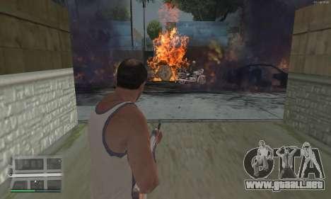 Meteors Mod para GTA San Andreas tercera pantalla