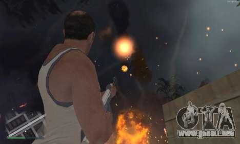 Meteors Mod para GTA San Andreas segunda pantalla