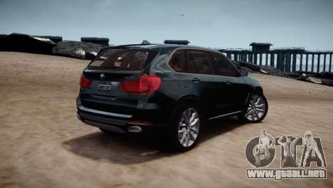 BMW X5 2015 para GTA 4 visión correcta