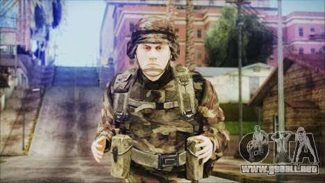 World In Conflict US Marine para GTA San Andreas