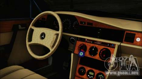 Mercedes-Benz 190E para la visión correcta GTA San Andreas