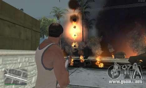 Meteors Mod para GTA San Andreas