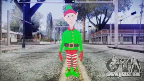 Christmas Elf v2 para GTA San Andreas segunda pantalla