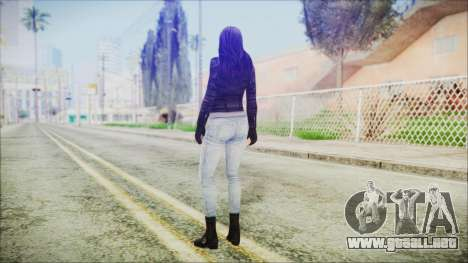 Marvel Future Fight Jessica Jones v2 para GTA San Andreas tercera pantalla