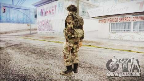 World In Conflict US Marine para GTA San Andreas tercera pantalla
