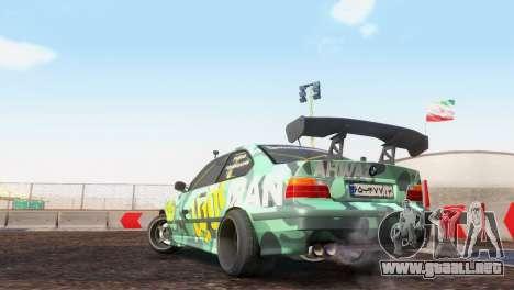 Bmw E36 Plena Sintonía para la visión correcta GTA San Andreas