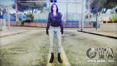 Marvel Future Fight Jessica Jones v2 para GTA San Andreas segunda pantalla
