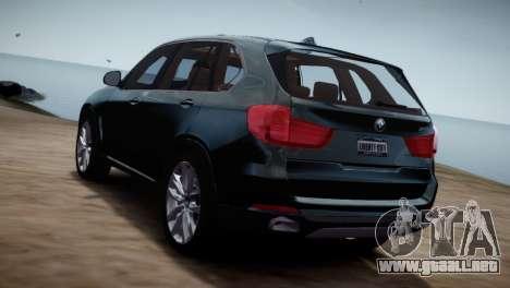 BMW X5 2015 para GTA 4 left