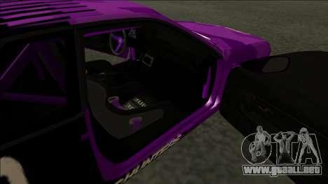Nissan Skyline R32 Drift Falken para visión interna GTA San Andreas
