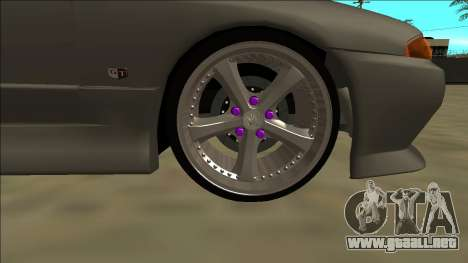 Nissan Skyline R32 Drift para la vista superior GTA San Andreas