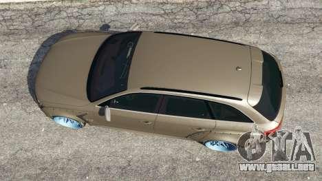 Audi RS4 Avant [LibertyWalk] para GTA 5