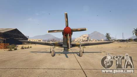 GTA 5 P-51D Mustang cuarto captura de pantalla