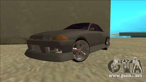 Nissan Skyline R32 Drift Sedan para visión interna GTA San Andreas