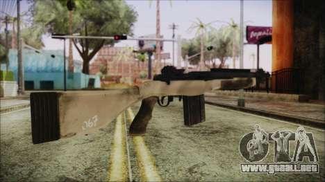 M308 PayDay 2 para GTA San Andreas segunda pantalla