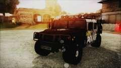 Hummer H1 Police