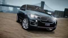 BMW X5 2015 para GTA 4