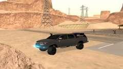 Toyota Hilux 2012 Activa barra led para GTA San Andreas