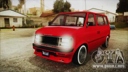 GTA 5 Declasse Moonbeam No Interior IVF para GTA San Andreas
