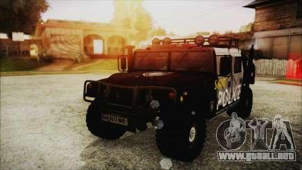 Hummer H1 Police para GTA San Andreas