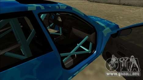 Lexus IS300 Drift Blue Star para el motor de GTA San Andreas