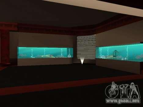 Oculto en el interior de los casino los Cuatro d para GTA San Andreas segunda pantalla