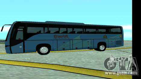 Volvo 9700 JR Indian MSRTC Shivneri para GTA San Andreas left