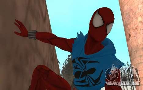 Scarlet Spider Ben Reilly Robinosuke para GTA San Andreas