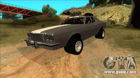 Ford Gran Torino Rusty Rebel para el motor de GTA San Andreas