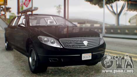 GTA 5 Benefactor Stretch E IVF para GTA San Andreas