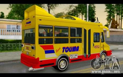 Iveco Turbo Daily Buseton para GTA San Andreas left