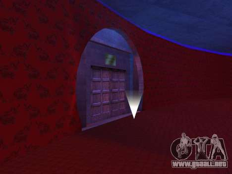 Oculto en el interior de los casino los Cuatro d para GTA San Andreas tercera pantalla
