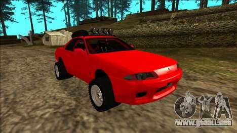 Nissan Skyline R32 Rusty Rebel para el motor de GTA San Andreas