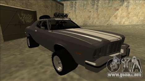 Ford Gran Torino Rusty Rebel para GTA San Andreas left