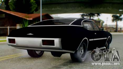 Muscle-Clover Final para GTA San Andreas left