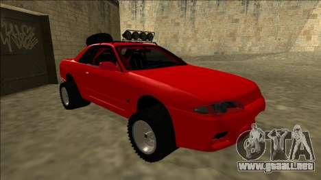 Nissan Skyline R32 Rusty Rebel para GTA San Andreas left