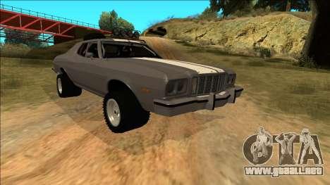 Ford Gran Torino Rusty Rebel para las ruedas de GTA San Andreas