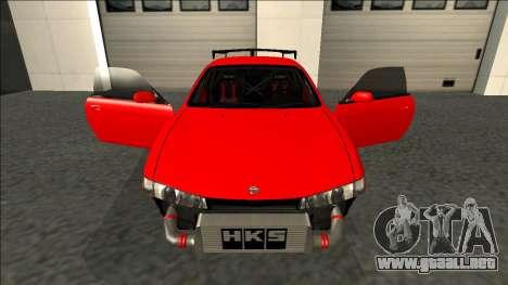 Nissan Silvia S14 Drift para GTA San Andreas interior