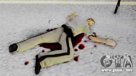 GTA 5 Effects v2 para GTA San Andreas segunda pantalla