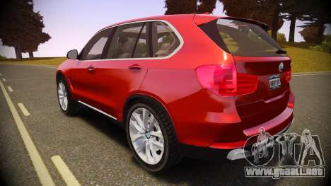 BMW X5 2014 para GTA 4 left