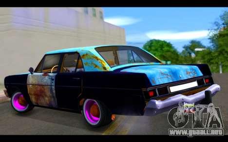 Dodge Dart 1975 v2 Estilo Rusty para GTA San Andreas left