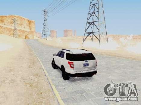 Ford Explorer 2013 Semi-Tuning para la visión correcta GTA San Andreas