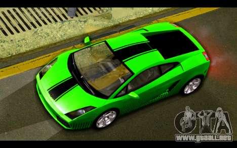 Lamborghini Gallardo para el motor de GTA San Andreas
