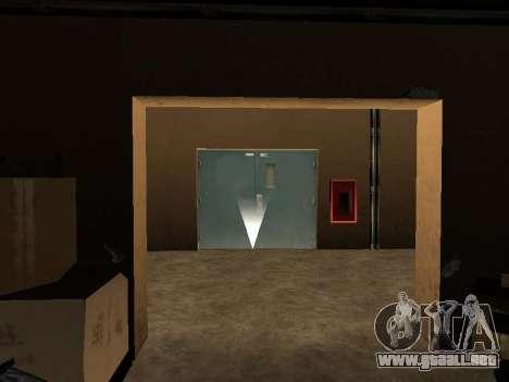 Oculto en el interior de los casino los Cuatro d para GTA San Andreas sucesivamente de pantalla