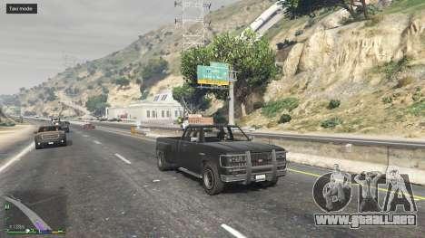 GTA 5 Todo el mundo es un Taxi segunda captura de pantalla