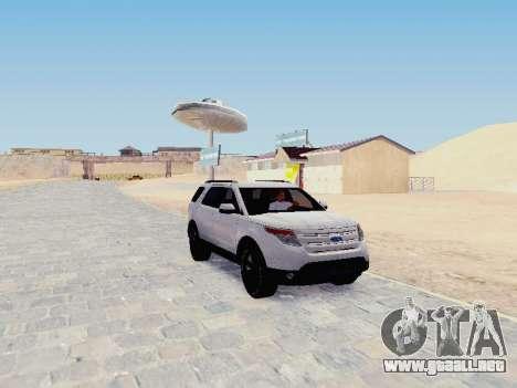 Ford Explorer 2013 Semi-Tuning para GTA San Andreas